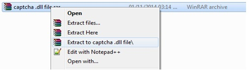 Extract Downloaded Folder