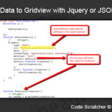 How to Bind Data to Gridview with Jquery or JSON in ASP.Net