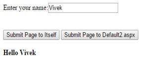 Submit Page to Itself