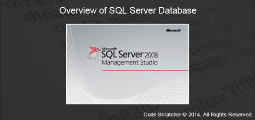 OVERVIEW OF SQL SERVER DATABASE