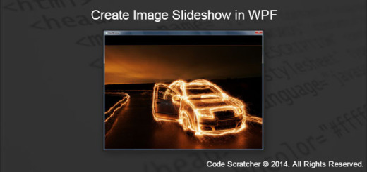 Create an Image Slideshow in WPF