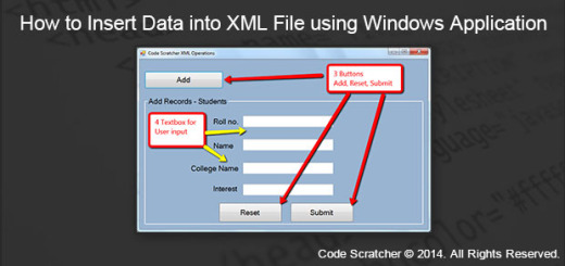 How to Insert Data into XML File using Windows Application