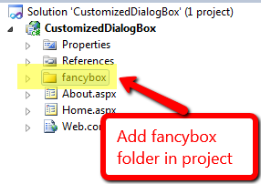 add fancybox folder