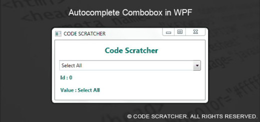 Autocomplete Combobox in WPF - CODE SCRATCHER