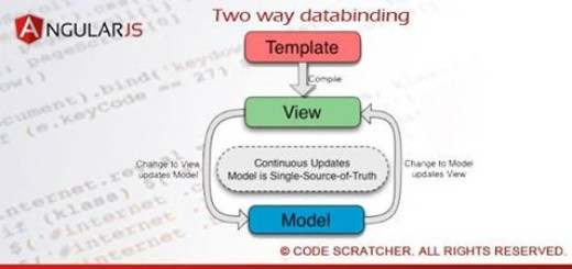 Two way data binding angularjs_Code_Scratcher