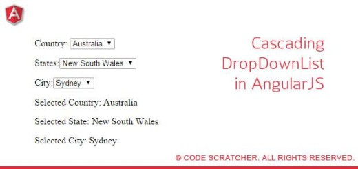Cascading Dropdowns in AngularJs
