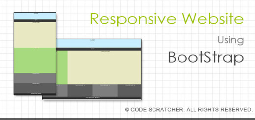 Responsive Website Using BootStrap - CODE SCRATCHER