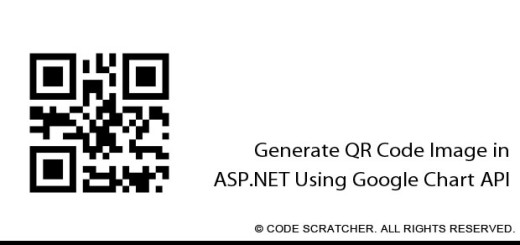 Generate QR Code Image in ASP.NET Using Google Chart API - CODE SCRATCHER