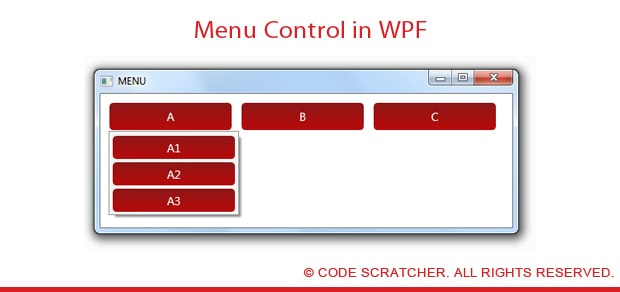 Menu Control in WPF - Code Scratcher