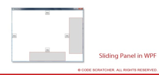 Sliding Panel in WPF - CODE SCRATCHER